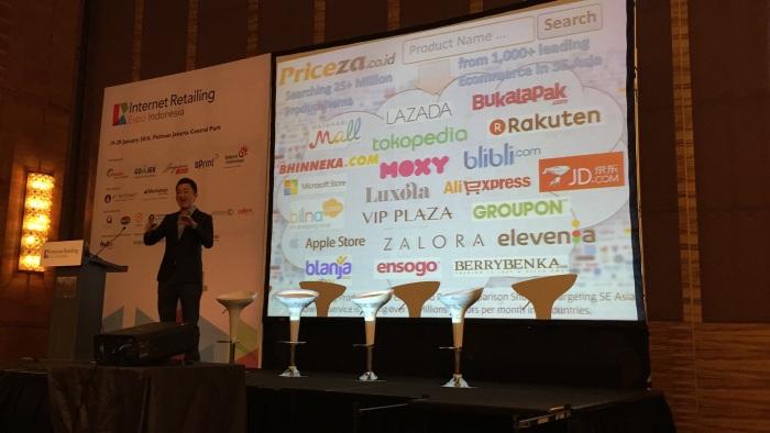 เป็น Speaker ที่งาน Internet Retailing Expo Jakarta2016